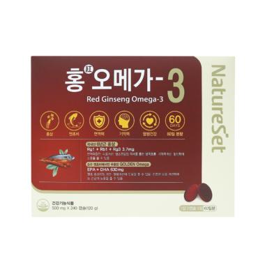 홍오메가3 240C(2개월분)