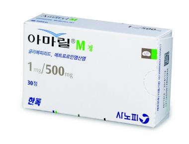아마릴-엠® 정 1/500mg