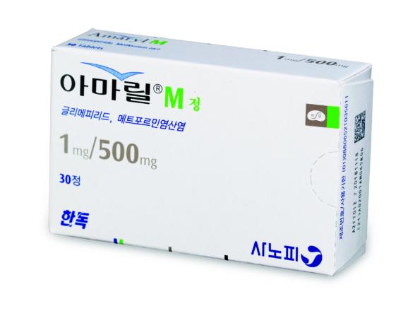 아마릴-엠<sup>®</sup> 정 1/500mg