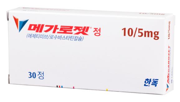 메가로젯<sup>®</sup> 정 10/5mg